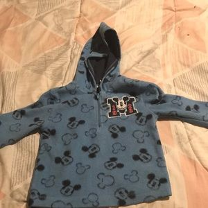 A Mickey Mouse hoodie